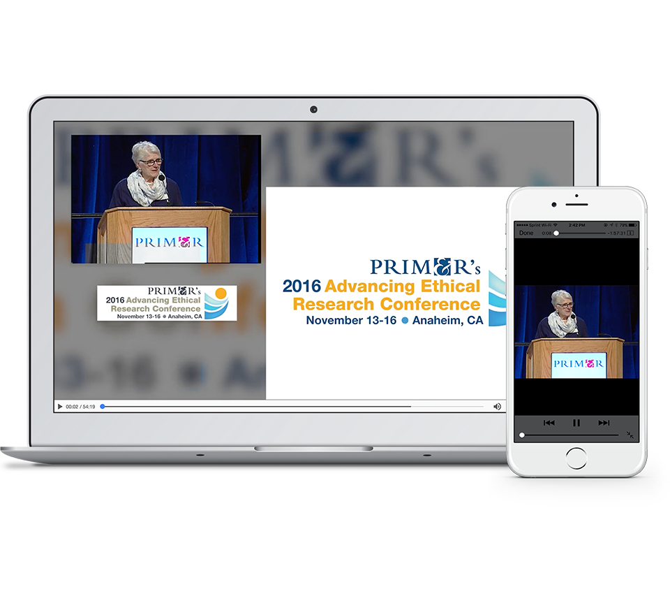 CadmiumCD will sync your conference's video proceedings with your presentation slides.